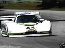 Jaguar XJR7 groupe 44 Racing Photo USA 1985 Bob Tullius Bill Adam