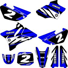 Yamaha Yz 85 Graphics Deco Decals Sticker Kit Fits Years 2002 -2014