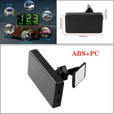 C80 5V Car GPS HUD Speedometer Speed Display Black KM/h MPH For Bike Motorcycle