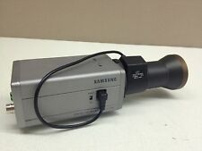 Samsung SCC-130B Color CCTV Camera w/ 5-100mm Extra Long Range Auto-Iris Lens