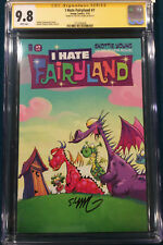 Skottie Young CGC 9.8 Signed I Hate Fairyland #7 Comic not CBCS