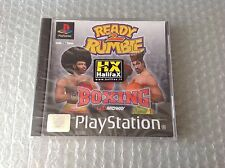 Ready 2 Rumble Boxing Sony Ps1 Nuovo Sigillato New Sealed Pal1 Stampa Rarissima