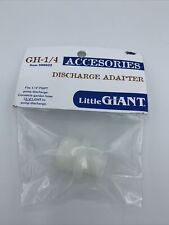 Little Giant 599022 Garden Hose Adaptor 14 Fnpt X 34