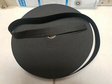 1'1/2 yards**.Black* 1 inch heavy duty elastic band