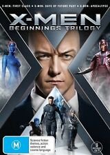 X-Men: Prequel Trilogy (DVD, 2016, 3-Disc Set) (Region 4) Aussie Release
