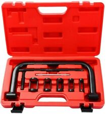 Valve Spring Compressor C Frame Service ATV Auto Motorcycle Pusher Tool Set+Case