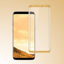 Privacy Tempered Glass Screen Protector Full Coverage for Samsung Galaxy S8 Plus Clear