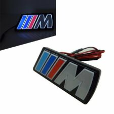 LED Light Emblem For BMW ///M Grille M Badge Decal M3 M4 M5 X1 X3 X5 X6 M-serie