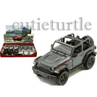 Kinsmart 2018 Jeep Wrangler Rubicon 4x4 Removed Top 1:34 Diecast KT5412DH