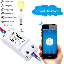 Sonoff Basic Wireless Remote Control Switch 10A Power Consumption Measurement