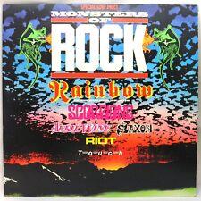 "Monsters of Rock 1980 Vinyl Record 12"" 33RPM LP Polydor UK"