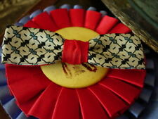 Rare Handsome VINTAGE Bow Tie Holiday Cocktail Party Antique Men's Accessory