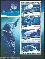 TOGO  2014  WHALES  SHEET MINT NH