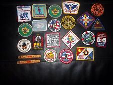 VINTAGE BOY SCOUT PATCHES LOT HAS 18 (LOT 11)