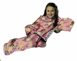 Disney The Princess & the Frog Youth Comfy Throw - The Blanket with Sleeves