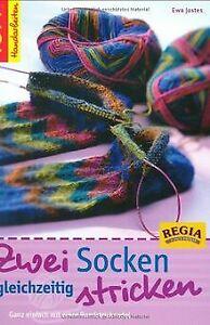 Zwei Socken gleichzeitig stricken: Ganz einfach mit eine...   Buch   Zustand gut