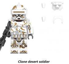 STAR WARS MINIFIGURE CLONE DESERT SOLDIER CUSTOM not LEGO NEW04/2021