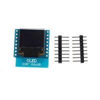"OLED Shield for WeMos D1 mini 0.66"" inch 64X48 IIC I2C for Arduino Compatib JKBJ"