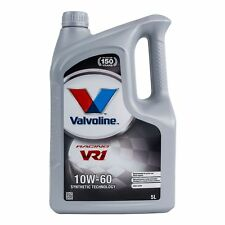 Valvoline VR1 Racing 10W-60 Premium Synthetic 10W60 Engine Oil 5 Litres 5L
