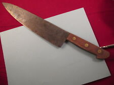 """Vintage 1950's UNI CORP. Japanese Carbon Steel Gyuto Chef Knife blade 10.25"""""""