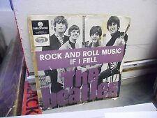 BEATLES Rock and Roll Music/If I Fell 45 RPM Parlophone Records VG