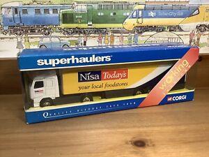 Boxed Corgi Superhaulers TY86721 Volvo FH Temperature Controlled Van Nisa Todays