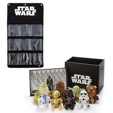 Star Wars Beans Collection Box Plush Doll 8pcs Wall Pocket Set Takara Tomy Arts