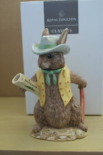 AUSSIE EXPLORER TEAPOT BUNNYKINS LIMITED EDITION D 7027 ROYAL DOULTON MADE IN UK
