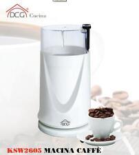Macinacaffè elettrico Dcg macina trita chicchi caffè lama acciaio ksw 2605 Rotex