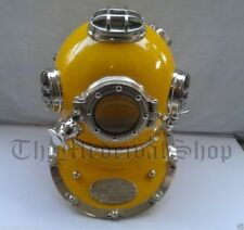 Diving Divers Solid Steel Helmet Antique Mark V U.S Navy Vintage Divers Gift