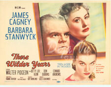 These Wilder Years Lobby Card - Title Card - James Cagney - 1956  - VF