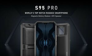 """Doogee S95 Pro Modular Rugged Mobile Phone: 6.3"""" Screen: 8Gb + 256Gb: Waterproof"""