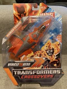 Transformers Crossovers: Marvel Universe: FF4 The Human Torch Action Figure!!