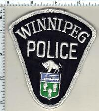 Winnipeg Police (Canada) Uniform Take-Off Shoulder Patch from the Early 1980's