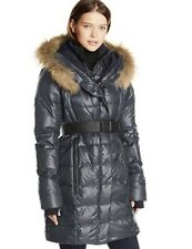 WOMEN'S RUDSAK NAVY DOWN FILLED COAT WITHOUT REMOVABLE FUR COLLAR SIZE XS