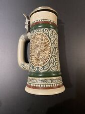 Avon Rainbow Trout & English Setter Beer Stein Collectibles 1978 Vintage 489350