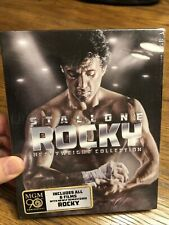 New ListingRocky Heavyweight Collection Blu-ray 6-Disc Set Stallone 6 movies