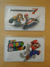 SUPER MARIO KART 7 3D LAND CUSTODIA POUCH COVER NUOVO 3DS DS