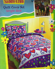 SADDLE CLUB Single Bed Doona/Quilt Cover Set BNIPack