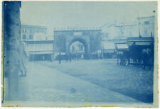 Cyanotype Porte de France Tunis Tunisie Vers 1890