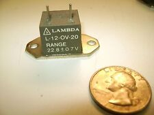 Lambda L-12-OV-20  Over-voltage protector - 12 amp  -  NEW and unused (Lot of 1)