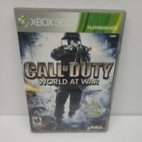 Call of Duty World at War Xbox 360 Game Complete Tested