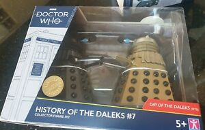 Doctor 3rd Dr Who History of the Daleks set 7 Day (1972) new sealed #7