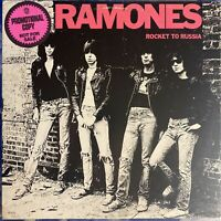 Ramones – Rocket to Russia : 1st Pressing Promo 1977 Vinyl LP SR-6042 NEAR MINT