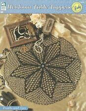 Pearls and Lace Beaded Doily Crochet Pattern - Heirloom Table Toppers HOWB
