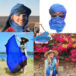 Tuareg Scarf  Long Ethnic Turban Handmade Sahara Desert Scarves Unisex