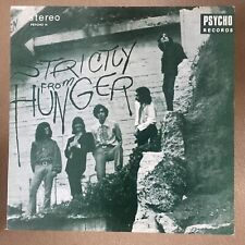 HUNGER: Strictly From Hunger LP UK 1983 PSYCHO14