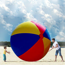 Inflatable Giant Beach Ball Behemoth OverSize Circumference Play Party Toy 2M