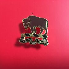 Us Army 10Th Cavalry Division Left Hat Pin (Buffalo Soldiers)