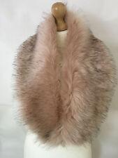 New Ladies Women Winter Soft Faux Fox Fur Collar For Jacket Coats Wraps  shawl